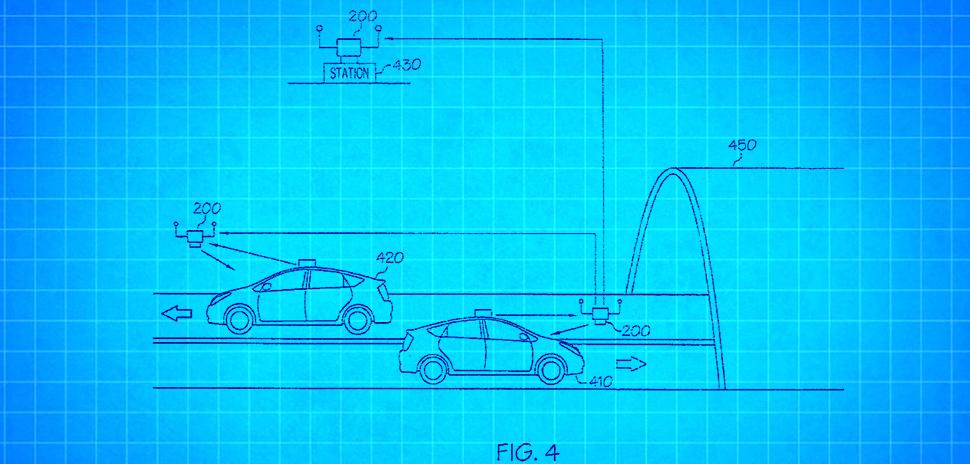 toyota autonomous driving system patent granted