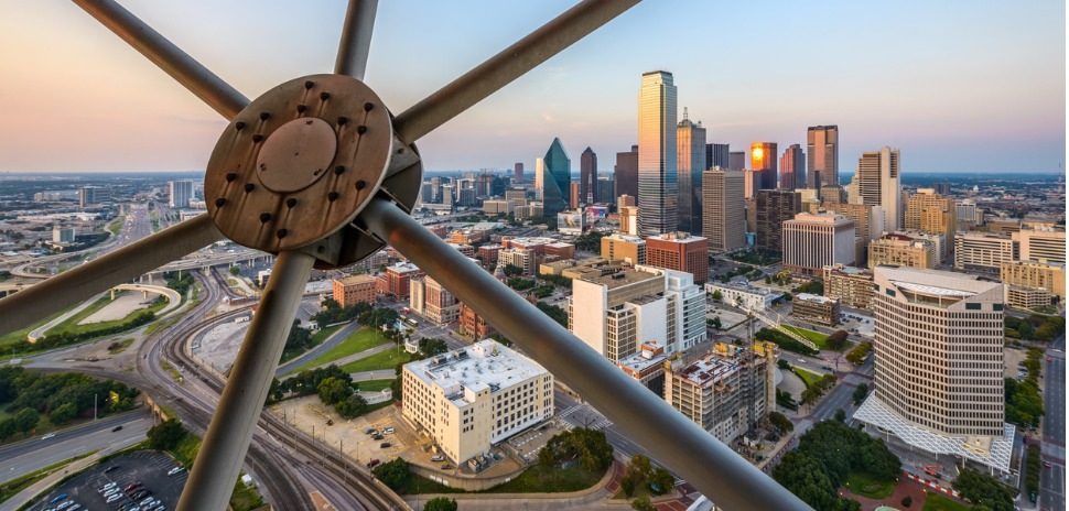 city of dallas skyline entrepreneurs innovation