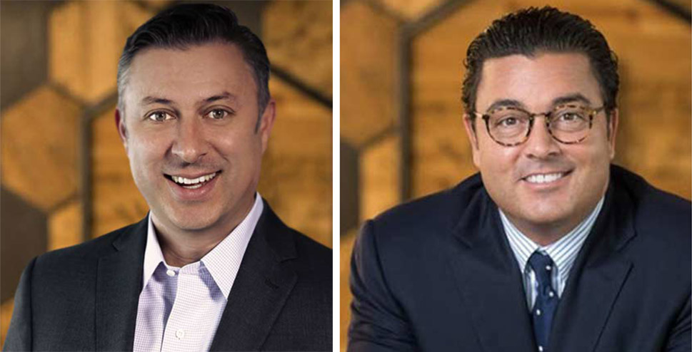 Investor/entrepreneur Greg Alexander (right) has named Sean Magennis CEO of the new Capital 54 family office. [Photos: Courtesy Capital 54]