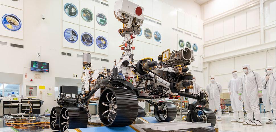 NASA Mars Rover [Image: NASA/JPL-Caltech]