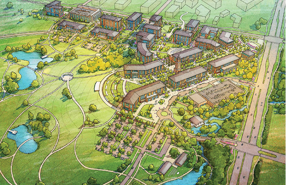 UNT at Frisco campus University of North Texas campus master plan