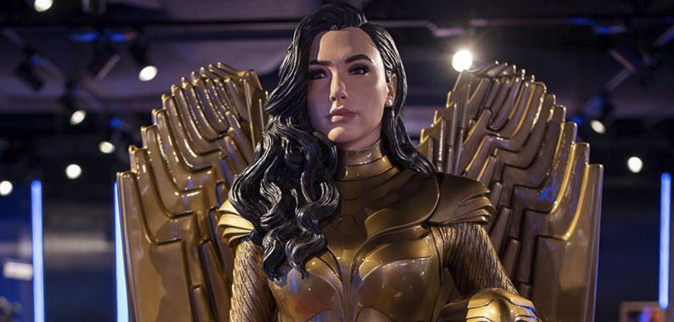 AT&T Discovery District Wonder Woman 1984 Augmented Reality - 5g AR AT&T store