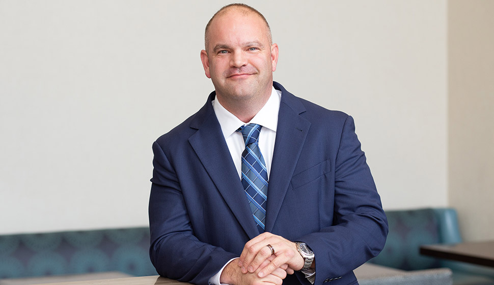 CEO Bravis Brown [Photo: BPS Technologies]