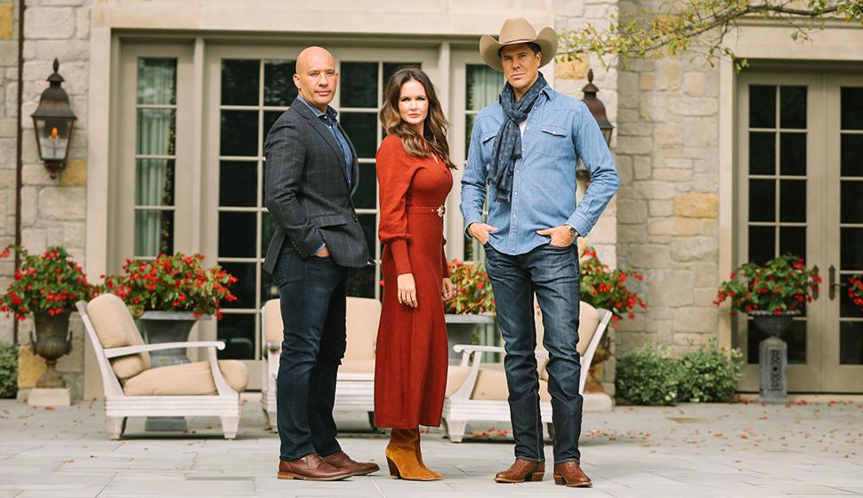 John Gomes, Julia Spillman, and Fredrik Eklund douglas Ellison North Texas REal EState