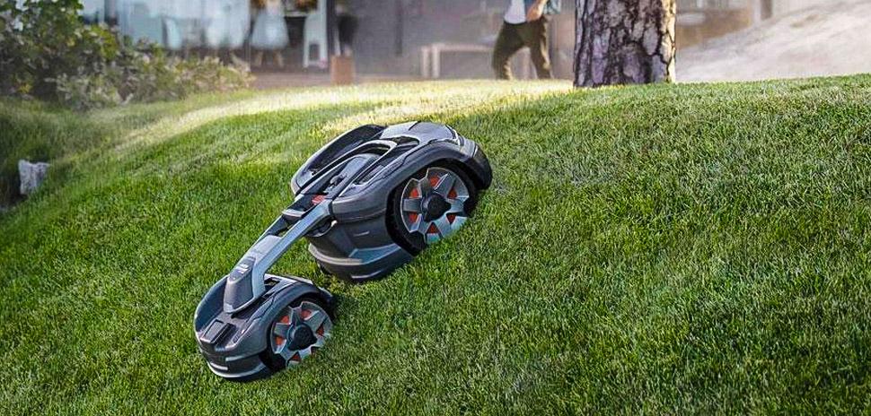 Robin autopilot mower lawn tech startup