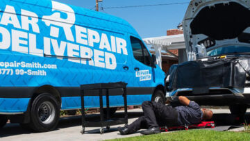 RepairSmith officially announced its at-home car repair and maintenance service in Dallas and Houston. Next up is Austin, the company says.
