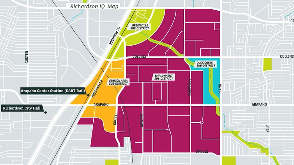 The IQ Richardson, innovation district richardson texas