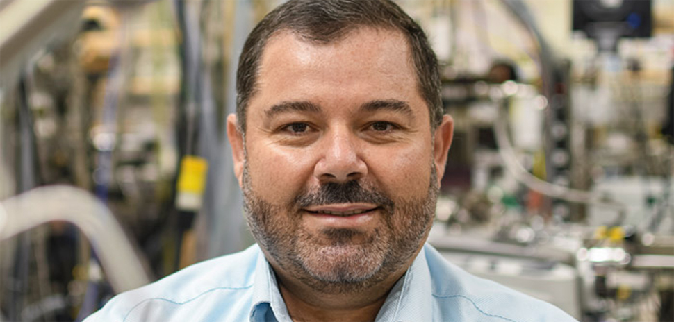 UTD's Dr. Manuel Quevedo has worked for years to develop a technology to detect neutron radiation.